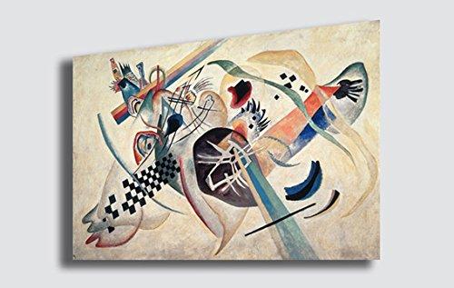 Quadro WASSILY KANDINSKY Komposition - RIPRODUZIONE STAMPA SU TELA ...