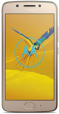 Motorola Moto G5 Smartphone (12,7 cm (5 Zoll), 3GB RAM/16GB, Android) Fine-Gold [Exklusiv bei Amazon]