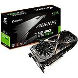 Gigabyte AORUS GeForce GV-N108TAORUS-11GD Carte graphique Nvidia GeForce GTX 1080 Ti 11 Go PCI Express x16 3.0