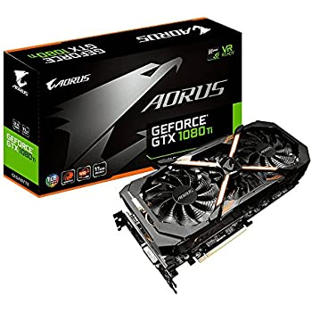 gigabyte aorus geforce gv n108taorus 11gd carte graphique nvidia geforce gtx 1080 ti 11 go pci. Black Bedroom Furniture Sets. Home Design Ideas