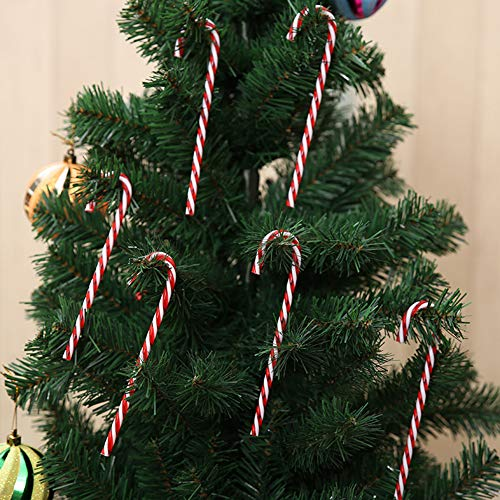 Xmas Tree Candy Cane hängende Dekoration Ornament Christmas Home Party Kids Geschenk Multi ()