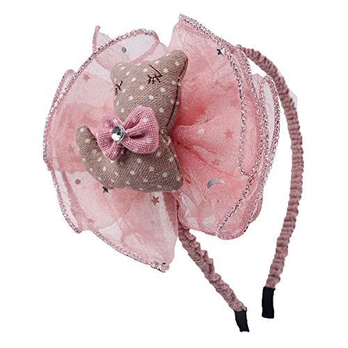 Auspiciousi Spitze-Haarbänder-Kind-Bärn-Kaninchen-Form-Stirnband für Mädchen-Kopfband-Haar-Zusätze