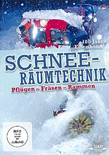 Schneeräumtechnik bei der Bahn - 100 Jahre Eisenbahn - Pflügen-Fräsen-Rammen