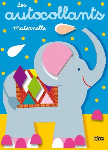 Les autocollants maternelle : l'éléphant - Dès 3 ans