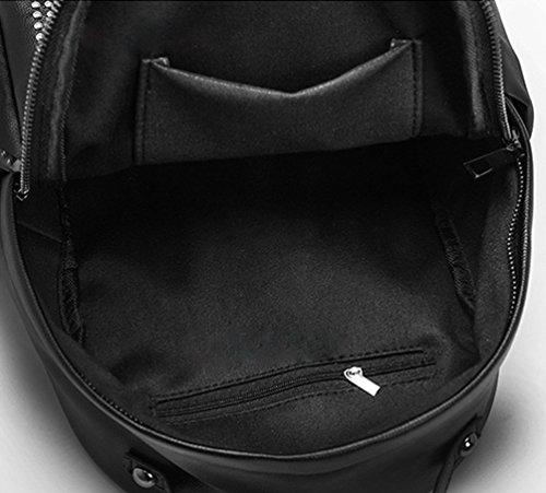 Mode Damen Rucksack Damen Exquisit Einfach Yuncai Backpacks Niet Schwarz Reise 0ZwqIgxfv