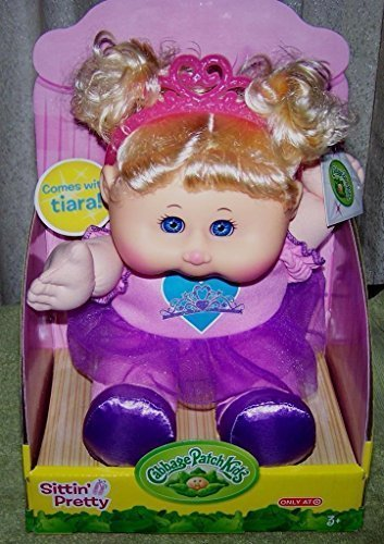 new-cabbage-patch-kids-14-sittin-pretty-comes-with-tiara-blonde-pigtails-doll-by-wicked-cool-toys