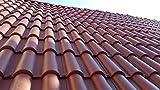 Tegola / Coppo etrusco colore Terracotta roofy confezione da 17 pz.