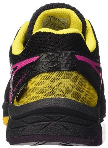 Asics Gel-Fujiattack 5 G-tx, Scarpe da Ginnastica Donna Viola (Eggplant/Sport Pink/Lemon)
