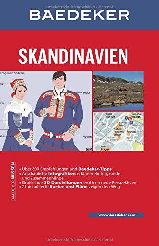 Baedeker Reiseführer Skandinavien, Norwegen, Schweden, Finnland: mit GROSSER REISEKARTE: Alle Infos bei Amazon