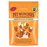 Pet Munchies Chicken Wrapped Calcium Bones 100 g, Pack of 8