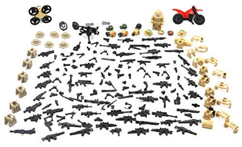 Lego compatibile L'guerra moderna deserto soldato accessori militari forze speciali per deserto campo di battaglia 290 Pezzi