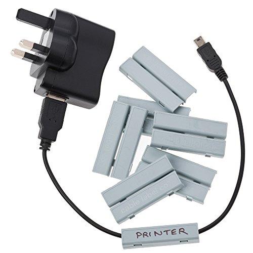 Cablebug2 (klein) Packung mit 40 stück GRAU MIT FREIEN CABLEBUG PEN INKLUSIVE -