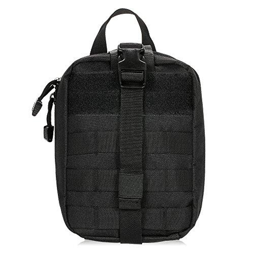 Lixada Medizinische Tasche Molle Erste-Hilfe-Kit Utility Bag Notüberlebens Erste Responder Medic Tasche für Outdoor (Kit-tasche)