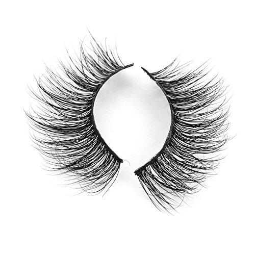 TOOGOO 1 paires 3D faux cils de luxe Longs cils naturels solids Cils pour maquillage A02
