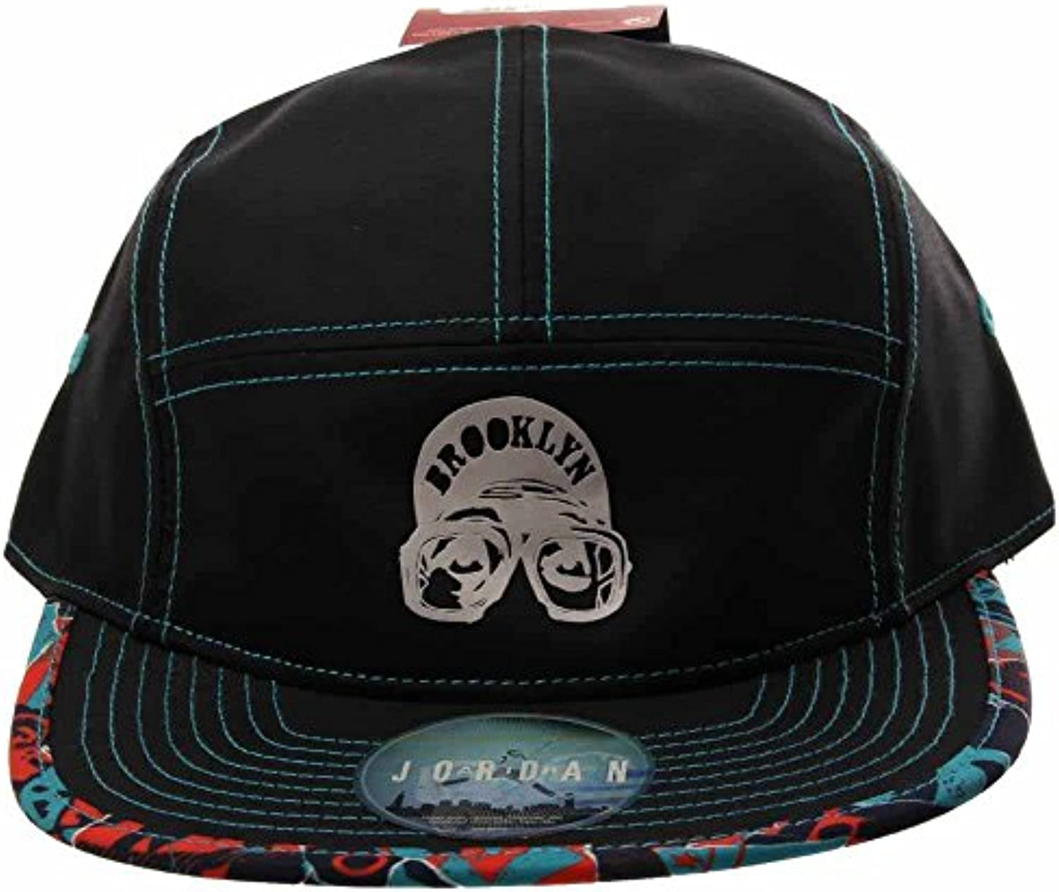 Jordan Nike Jumpman Pattern 5 Panel Snapback Adjustable Hat