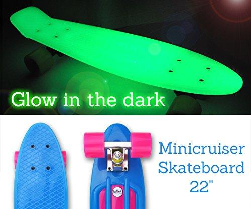 Boards Deck (Hellmet Mini Cruiser Skateboard 22