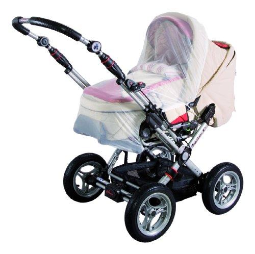 Sunnybaby 10168 - Insektenschutz für Kinderwagen, weiß