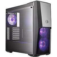 MasterBox MB500 Boîtiers PC 'ATX, Micro-ATX, Mini-ITX, Haut de Flux D'air, Panneau Latéral en Verre trempé' MCB-B500D-KGNN-S0