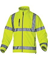 Panoply Moonlight High Visibility Hi Viz Water Repellent And Breathable Softshell Jacket