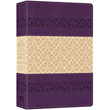 Holy Bible: King James Version, Cross Reference Study Bible, Indexed, Purple
