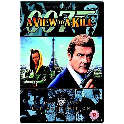 James Bond - A View to A Kill (Ultimate Edition 2 Disc Set) [DVD] [1985] by Roger Moore