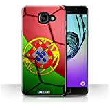 Coque de Stuff4 / Coque pour Samsung Galaxy A5 (2016) / Portugal Design / Nations de Football Collection