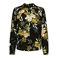 ONLY Dames Onlnew Mallory L/S Blouse Aop Wvn Noos Top