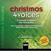 christmas 4 voices, Doppel-CD: 57 Choraufnahmen zur Advents- und Weihnachtszeit