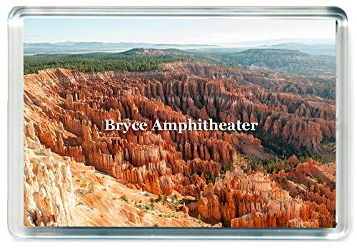 GCT J483 Bryce Amphitheater Jumbo Kühlschrankmagnet US - Amerikanisch Travel Fridge Magnet USA - Bryce Amphitheater