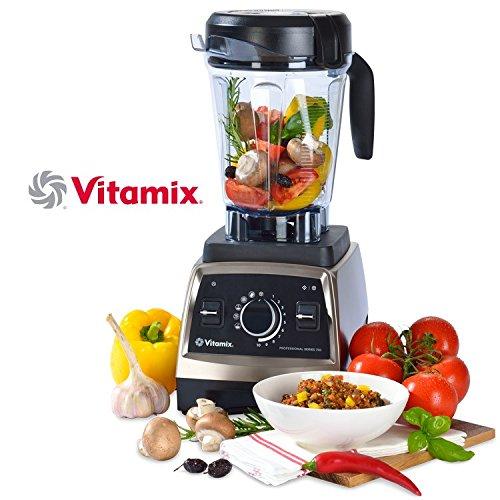 Vitamix 010338 Professional Series 750 Standmixer Edelstahl-Optik