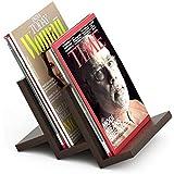 Bluewud Isvia Magazine Holder Rack Cum Newspaper Stand (Wenge, Standard)