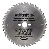 Wolfcraft 6660000 - Lama per sega circolare in MD, grane assortite, 24 denti, diametro 250 x 30 x 3,2 mm