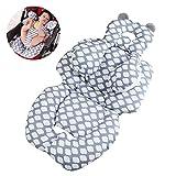 Siège auto pour bébé Insertion, bébé Head Neck Body Support pour poussette,...
