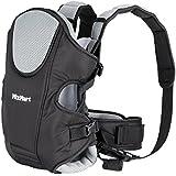MixMart 3-en-1 Porte-bébé Ventral/Dorsal Ergonomique Tissu Respirant pour Porter Bébé Multifonctionnel avec Bavoir pour Bébé de 3,5-12kg