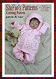 patrón para dos agujas – KP54 - chaqueta matinée, pantalones, sombrero  y botitas/patucos para bebé (Spanish Edition)