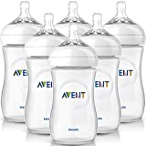 Philips AVENT: 6x260ml Babyflaschen Set NATURNAH NATURAL SCF693/37 Flaschenset