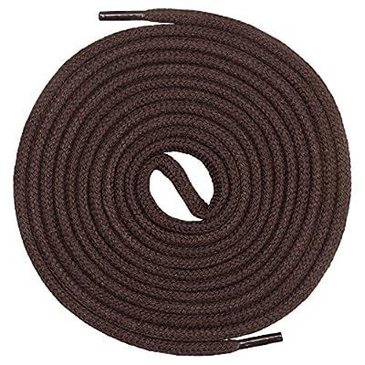 Mount Swiss© Premium-Schnürsenkel, Rundsenkel aus 100% Baumwolle, reißfest, ø 3 mm - 4 mm, 12 Farben, Längen 45 - 200 cm