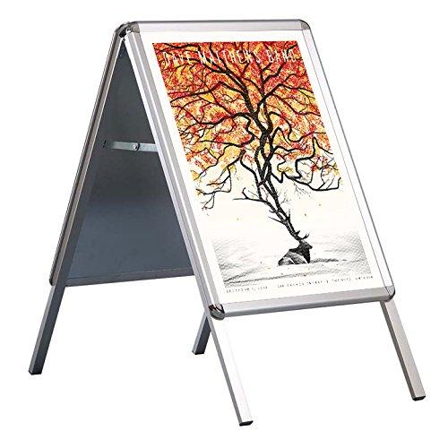 DISPLAY SALES Kundenstopper Plakatständer Indoor Rondo 32mm DIN A2 für Plakate 420 x 594 mm....