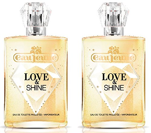 eau jeune Love And Shine Eau de Toilette 75 ml - Lot de 2