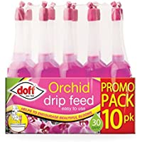 Doff 10 Pack Orchid Drip Feeders - Each Lasts 30 Days