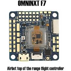 Leo565Tom Controlador de Vuelo V2 Betaflight Integrado Drone BEC Controlador de Vuelo (ICM 20608 con MPU 6000 Gyro, Soporte 3-6S Lipo de Potencia Directa, 4 en 1 Puerto ESC) para RC Drone Quadcopter