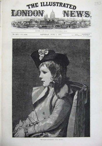 Fille 1878 Républicaine de Portrait de Beaux-Arts Jeune Petite