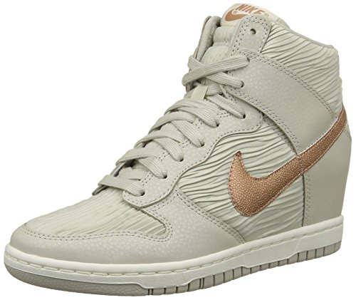 Nike Wmns Dunk Sky Hi 528899-013 (38.5) (Dunk Schuhe Frauen)