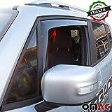 Jeep Renegade Deflettori D' aria Deflettore pioggia 2pezzi set anteriore a partire dal 2014