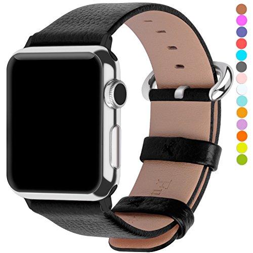 apple-watch-armband-42mm-fullmosar-litschi-textur-hauptschicht-rindsleder-lederarmband-mit-edelstahl