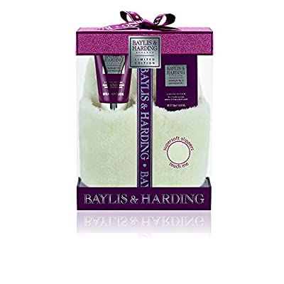 Baylis & Harding Midnight Fig and Pomegranate Slipper Set