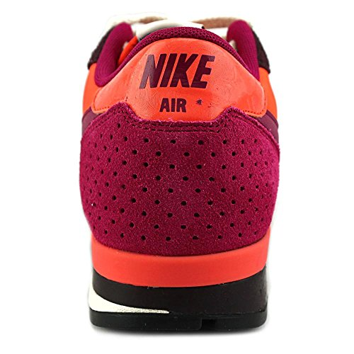 Nike Air Epic Qs, Chaussures de Running Entrainement Homme, Noir (Schwarz), Taille Multicolore - Rosa / Morado / Naranja (Dp Brgndy / Dk Frbrry-Elctr Orng)