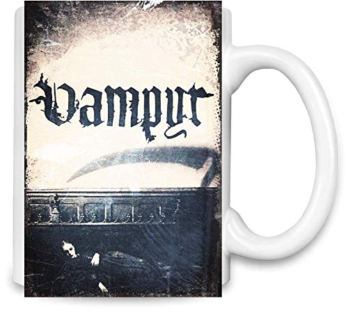Design Things Der Vampirfilm Schlaf - The Vampire Movie Sleep Unique Coffee Mug | 11Oz Ceramic Cup| The Best Way to Surprise Everyone On Your Special Day| Custom Mugs by