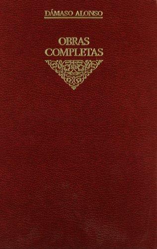 Obras completas vol 8: comentarios texto: Comentarios de textos (VARIOS GREDOS) por Dámaso Alonso