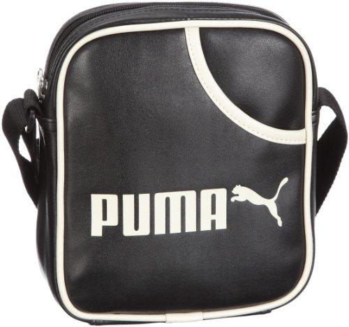 PUMA Borsa Messenger 070392 01 Nero 2.0 liters black-birch